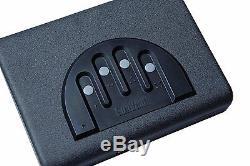 Gunvault Quick Access Hand Gun Safe Keypad Lock Box Truck SUV Car Home Pistol 5