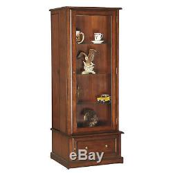 Hidden Gun Storage Curio Cabinet Slider Combo Rifle Shotgun Locking Firearm Safe