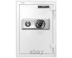 Hollon 2-Hour Fireproof Home Safe 13 x 16 x 19 With Dial Key Lock