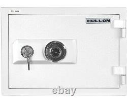 Hollon 2-Hour Fireproof Home Safe with Dial Key Lock