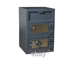 Hollon Dial Lock/Key Lock 3.6 Cu Ft B-Rated Depository Safe FDD-3020CK