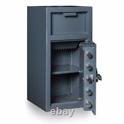 Hollon Fd-2714c Depository Safe Dial Lock Ul B-rated Authorized Dealer