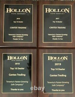 Hollon Hs-1600c Office Safe 2 Hour Fireproof S&g Dial Lock Authorized Dealer