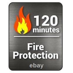 Hollon Safe 2-Hour Fire Impact Office Dial Lock Safe HS-750C