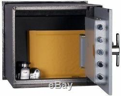 Hollon Safe Floor Safe B-Rated Combination Dial Lock With-Hydraulics B2500