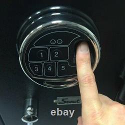 Home Security 2 Hour Fireproof Safe Biometric Lock Handgun Jewelry Cash