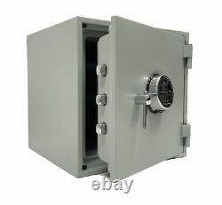 Home Security Safe 2 Hour Fireproof Biometric Lock Back up Keys