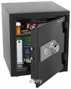 Honeywell Safes & Door Locks 2105 Steel 2 Hour Fireproof and Water Resistan