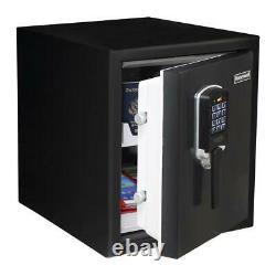 Honeywell Security Safe Waterproof Fireproof Programmable Lock Alarm Metal Black