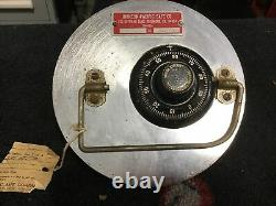 Johnson-Pacific Safe Co. Round Floor Safe Locking Head