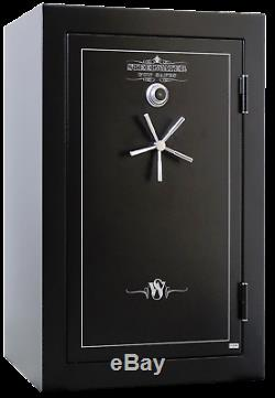 LD593924 Steelwater Home Hunting Safes Fireproof Gun Rifle 39 Safe LED Dial Key