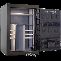 LD593924 Steelwater Home Hunting Safes Fireproof Gun Rifle 39 Safe LED Dial Lock