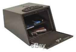 LIBERTY SAFE HD-300 Handgun Vault, Gray, 13.9 lb, Steel