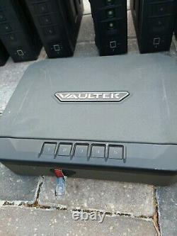LOF OF (1)Vaultek SL20i-BK Biometric Slider Series Safe (Black)