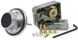 LaGard 3 Wheel Combination Lock Safe Vault LG3330-1777SC FREE AUS POST