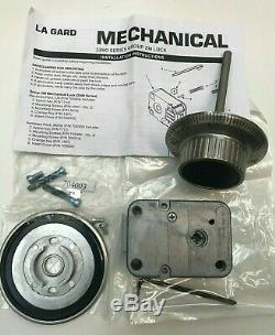 La Gard 3390 Series Group 2M Lock & 3 Wheeled Combination Lock