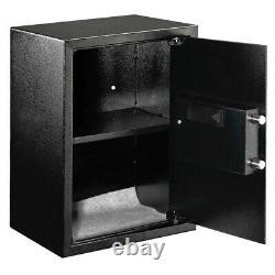 Large Digital Electronic Safe Box Keypad Lock Security Home Office Hotel Gun