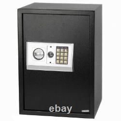 Large Digital Electronic Steel Safe Box Keypad Lock Security Home Office Sentry