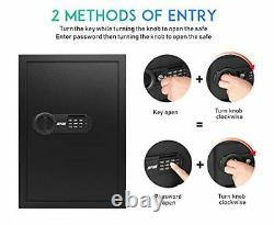 Large Fire Home Sentry Safe Electronic Lock Box Security Steel Fireproof RPNB08