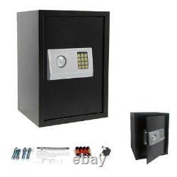 Large Home Security Electronic Keypad Lock Combination Jewel Gun Office Safe Box