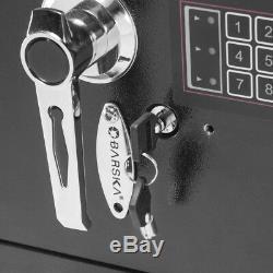 Large Safe Depository Drop Box Business Digital Keypad Electronic Lock Security