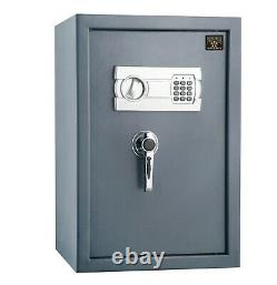 Large Safe Lock Box Security Steel Home Office Sentry Electronic Digital