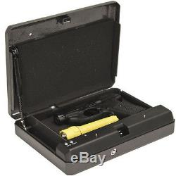 Liberty HD-100 Quick Vault Steel Handgun Safe Portable Pistol Vault Gun Storage