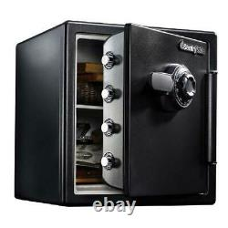 Lock Box Combination Safe Security Cash Gun Home Office Chest Fireproof Sentry