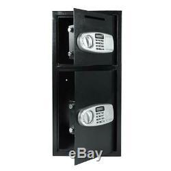 Lock & Safe Double Door Safe Box Digital Depository Safe Cash Drop Security