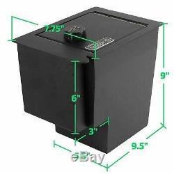 Locker Down Console Safe with 4 Digit Combo, 2010 2019 Toyota 4Runner