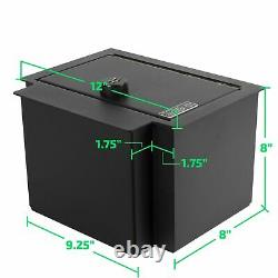 Locker Down Console Safe with 4 Digit Combo, Keep Personal Items Secure and