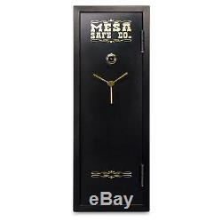 MESA MBF5922C-P Security Safe in Black with Combination Lock