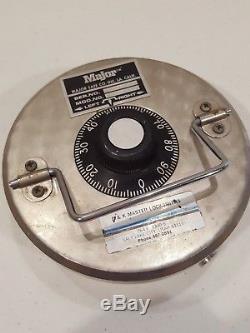 Major Safe Co. Round Safe Lid Lock for Floor Safe 3 Bolt No Combination