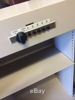 Medicine Drug Prescription Safe Cabinet-combination lock & Key-LionVille-NEW