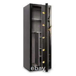 Mesa Gun Safe MBF5922E Burglary & Fire Resistant All Steel Electric Lock Black