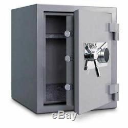 Mesa Safe High Security Fire Safe, 2-Hr Fire Rating, Mechanical Lock, 22W x