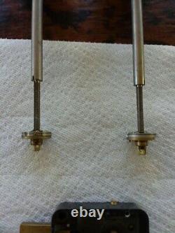 Mosler 402 4 wheel extended bolt vault locks 1/4×20 thread in bolt8 spindles
