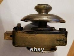 Mosler Safe Antique Combination Lock Bronze Dial Combo Deadbolt Vintage OLD