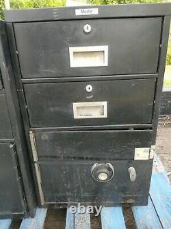 Mosler Safe Locking File Cabinet With Dail Lock/ keys and combination available