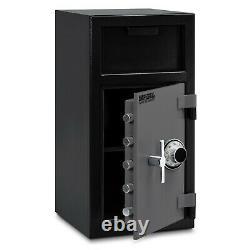 NEW Imperial iDF-20C Depository Safe Cash Drop Money Safety Deposit Combo Lock