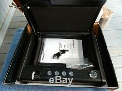 NEW SentrySafe QAP1BE Gun Safe with Biometric Lock One Handgun Capacity