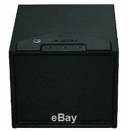 NEW Stack-On QAS-1200 Quick Access Safe with Electronic Lock Black Home Gun Case
