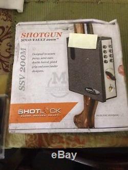 NIB ShotLock Shotgun 200M Solo-Vault Mechanical Gun Safe S-SSV200M