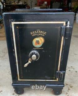 NICE Antique Reliable Safe & Lock Co. With Working Combination Unique Dial