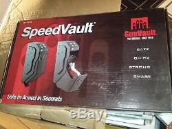 New GunVault SV500 SpeedVault Handgun Safe Pistol Box Secure Concealed Gun Quick