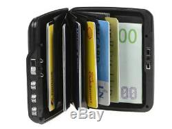 Ögon Card Case Code Wallet Exchange Rfid Protection and Combination Lock