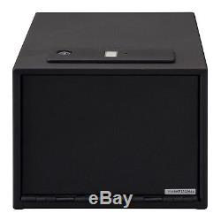 QAS-1512-B Stack-On Quick Access Safe with Biometric Lock