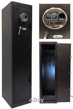 Quick Access Large Biometric Rifle Long Gun Safe