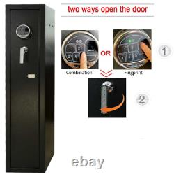 Quick Biometric Rifle and Shotgun Safe BACK UP keys