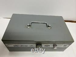 Rare Vintage Stebco 20 The Strong Box Safe with Key Lock Combination 50's-60's